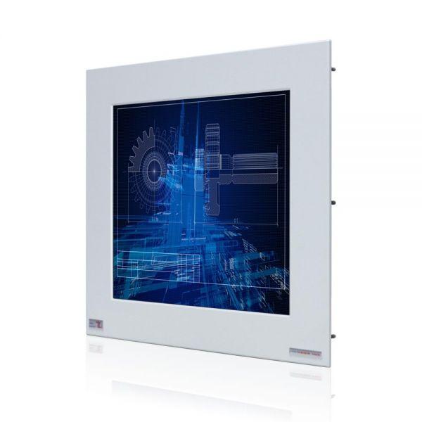 Front-right-WM 15-VDP-PMA-GS / TL Produkt-Welten / Industriemonitor / Panel Mount (Einbau von vorne) / ohne Touch-Screen