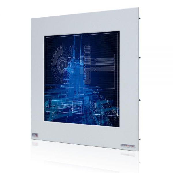 01-Einbau-Industriemonitor-WM17PMA-IP65 / TL Produkt-Welten / Industriemonitor / Panel Mount (Einbau von vorne) / Touch-Screen für 1-Finger-Bedienung