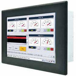 01-Front-right-R10IB3S-PMT2 / TL Produkt-Welten / Panel-PC / Panel Mount (Einbau von vorne) / Touch-Screen für 1-Finger-Bedienung