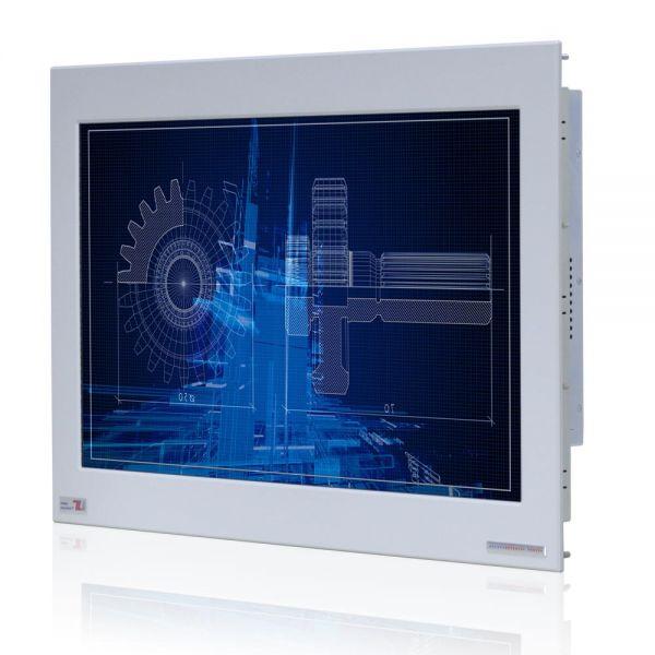 Front-right-WM 22W-IB70-PMA-PRS / TL Produkt-Welten / Panel-PC / Panel Mount (Einbau von vorne) / Touch-Screen für 1-Finger-Bedienung