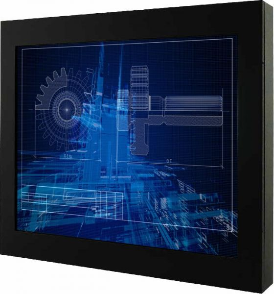 01-Chassis-Industriemonitor-R17L500-CHM1 / TL Produkt-Welten / Industriemonitor / Chassis (VESA-Mounting) / ohne Touch-Screen