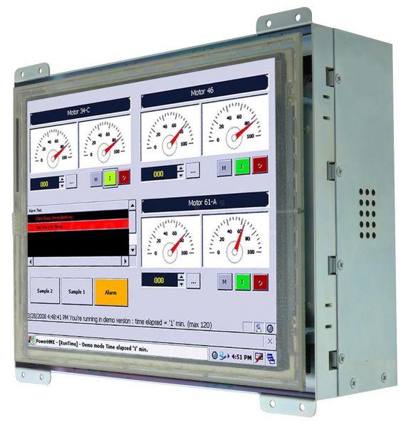 21-Front-right-R10IB3S-OFT2 / TL Produkt-Welten / Panel-PC / Open Frame (Einbau von hinten) / Touch-Screen für 1-Finger-Bedienung