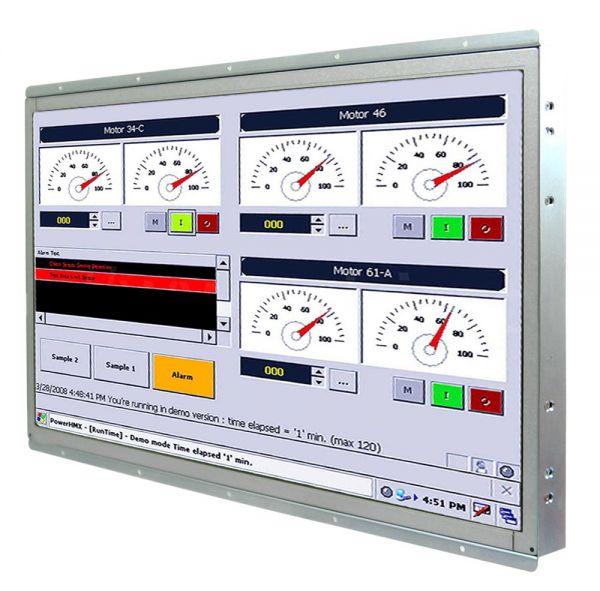 21-Front-right-W22IK7T-OFA3 TL Produkt-Welten Panel-PC Open Frame (Einbau von hinten) Touch-Screen für 1-Finger-Bedienung