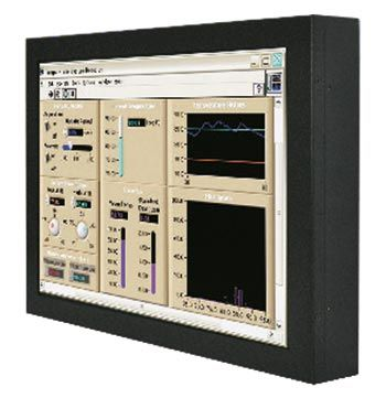 01-Front-right-W15L100-CHA2 / TL Produkt-Welten / Industriemonitor / Chassis (VESA-Mounting) / Touch-Screen für 1-Finger-Bedienung