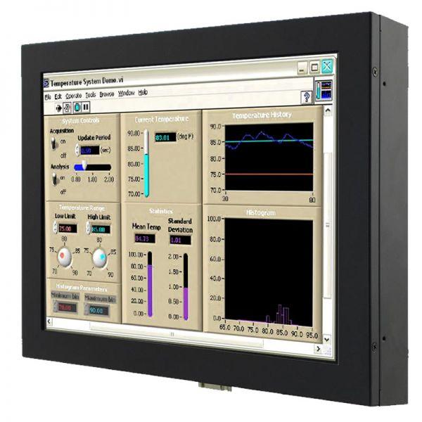 Front-right-WM-12-V-CH-PRU / TL Produkt-Welten / Industriemonitor / Chassis (VESA-Mounting) / Touch-Screen für 1-Finger-Bedienung