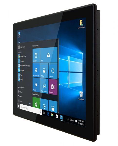 01-Front-right-R12IKWS-MHM2 / TL Produkt-Welten / Panel-PC / Panel Mount (Einbau von vorne) / Multitouch-Screen, projiziert-kapazitiv (PCAP)