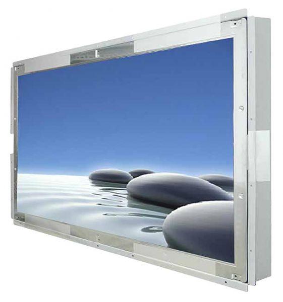 Front-right-WM 42W-VDP-ESU / TL Produkt-Welten / Industriemonitor / Open Frame (Einbau von hinten) / Touch-Screen für 1-Finger-Bedienung