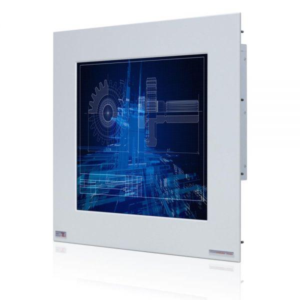 01-Industrie-Panel-PC-WM19PMA-IP65-Einbau / TL Produkt-Welten / Panel-PC / Chassis Edelstahl (VESA-Mounting / Touch-Screen für 1 Finger-Bedienung
