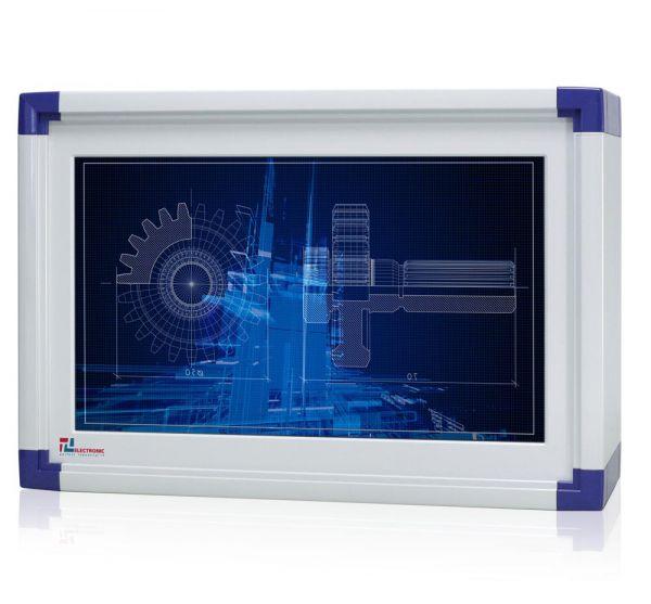 01-Front-IP65-WM22WPCA / TL Produkt-Welten / Panel-PC / mit Rundumschutz mit oder ohne Tastaturfront / Touch-Screen für 1-Finger-Bedienung