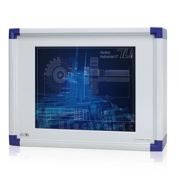 01-Front-IP65-WM17PCA / TL Produkt-Welten / Panel-PC / mit Rundumschutz mit oder ohne Tastaturfront / Touch-Screen für 1-Finger-Bedienung