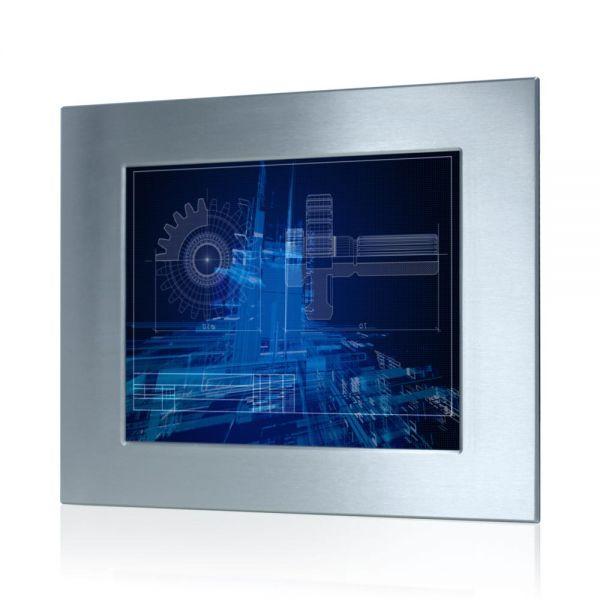 01-Front-right-WM17PME-IP65 / TL Produkt-Welten / Panel-PC / Panel Mount (Einbau von vorne) / ohne Touch-Screen