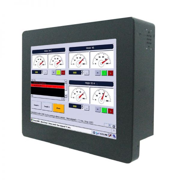 01-Chassis-Industrie-Panel-PC / / TL Produkt-Welten / Panel-PC / Chassis (VESA-Mounting) / Touch-Screen für 1-Finger-Bedienung