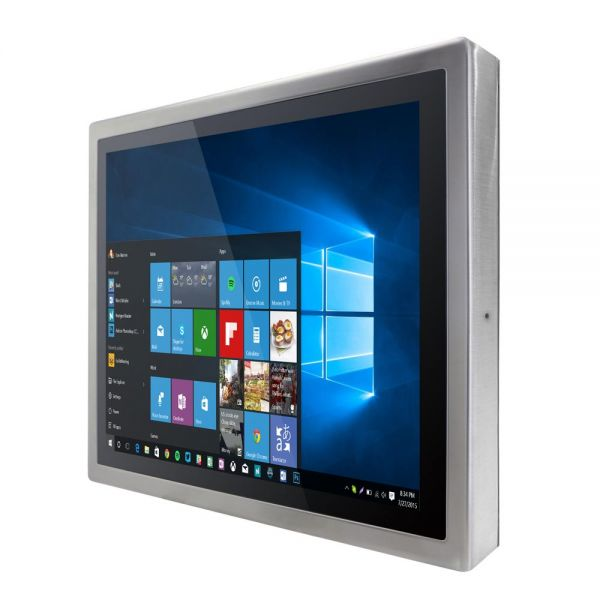 01-Front-right-R15IH3S-SPC3 / TL Produkt-Welten / Panel-PC / Chassis Edelstahl (VESA-Mounting) / Multitouch-Screen, projiziert-kapazitiv (PCAP)