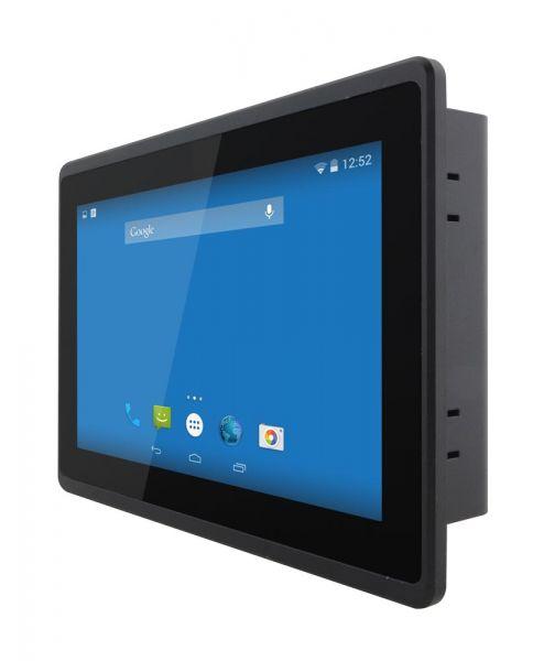 01-HMI-Panel-PC-Multi-Touch-W07FA3S-EHT1 / TL Produkt-Welten / Panel-PC / Panel Mount (Einbau von vorne) / Multitouch-Screen, projiziert-kapazitiv (PCAP)